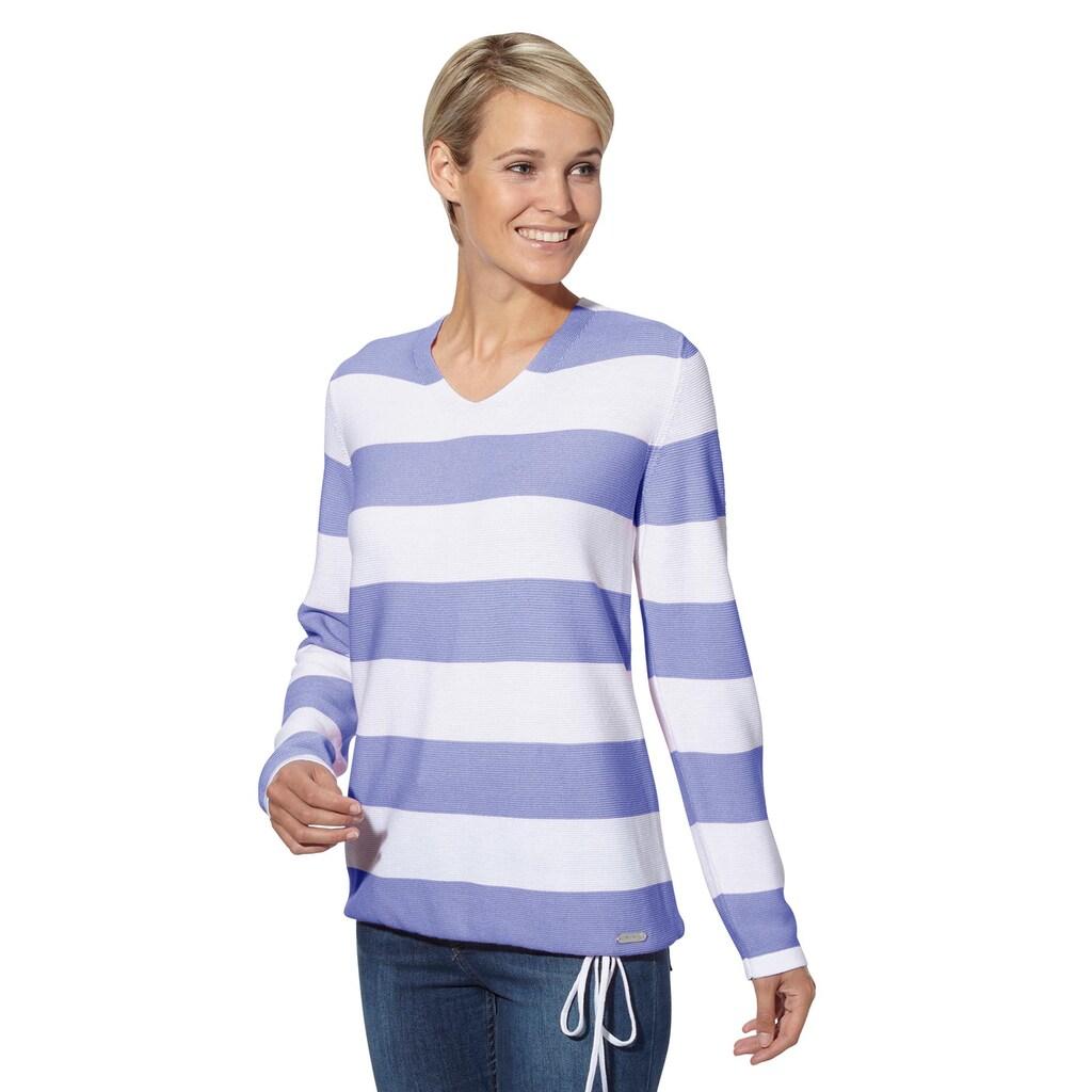 Casual Looks Streifenpullover »Pullover«