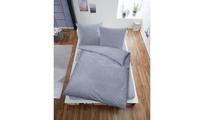Dormisette Bettwäsche »Strukturkaro« kaufen