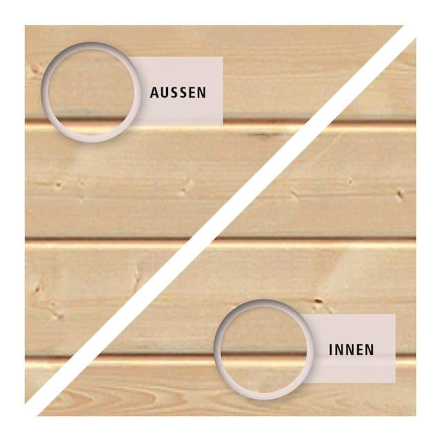 KONIFERA Fußboden für Gartenhäuser Für Sockelmaß 203 x 157 cm