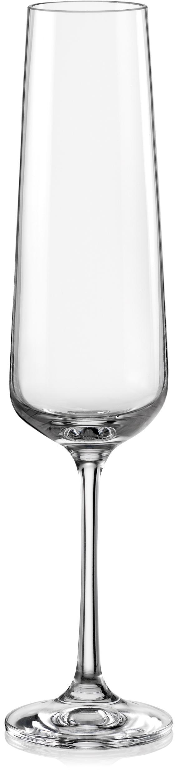 Home affaire Sektglas, (Set, 6 tlg.), 20 cl farblos Sektgläser Champagnergläser Gläser Glaswaren Haushaltswaren Sektglas