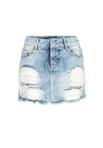 Cipo & Baxx Sommerrock, mit Taschennieten kaufen