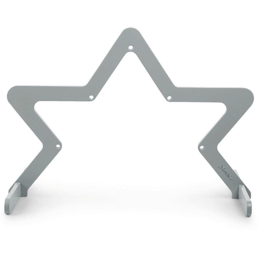 Sterntaler® Spielbogen »Stern, grau«, aus Holz; Made in Germany