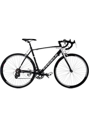 KS Cycling Rennrad, 14 Gang, Shimano, Tourney Schaltwerk, Kettenschaltung kaufen