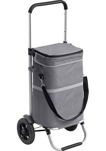 meister Einkaufstrolley »2 in 1«, mit Kühltasche und teleskopierbarem Griff kaufen