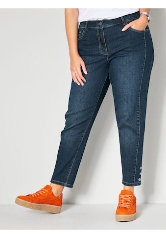 Janet & Joyce 5-Pocket-Jeans, mit streckender Dekonaht vorne kaufen