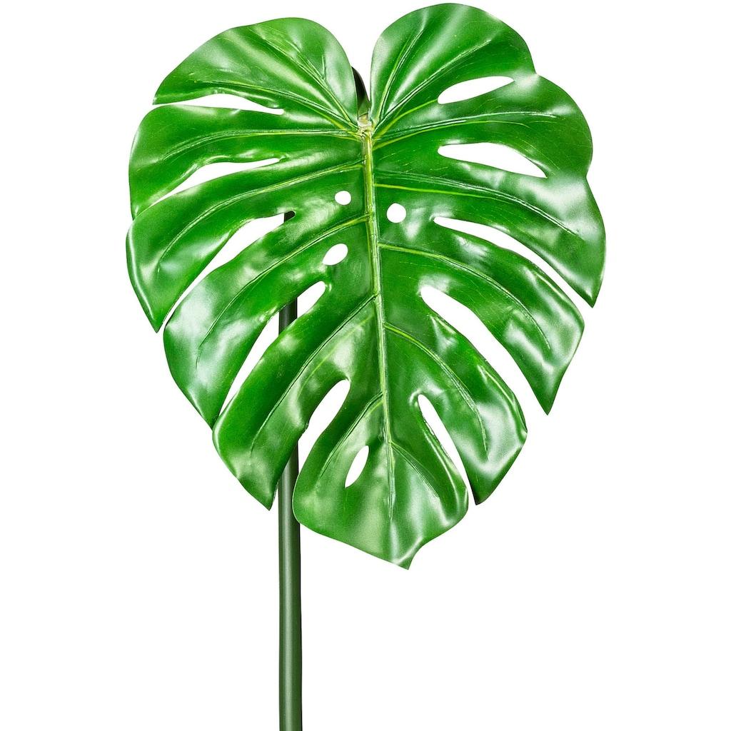 Creativ green Kunstzweig »Splitphilodendronblatt«