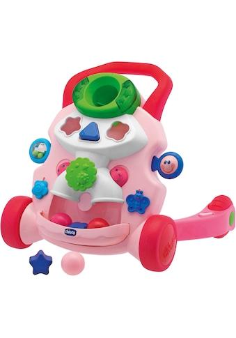 """Chicco Lauflernhilfe """"2in1 Chicco Lauflernwagen, rosa"""" kaufen"""