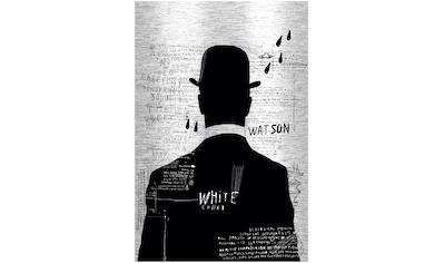Art & Pleasure Metallbild »Black and White man«, Menschen kaufen