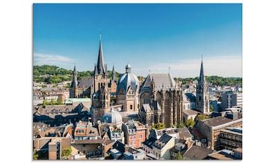 Artland Glasbild »Aachen Panorama III«, Deutschland, (1 St.) kaufen