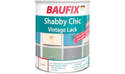 Baufix Acryl-Buntlack »Shabby Chic«, 0,75 Liter, weiß kaufen