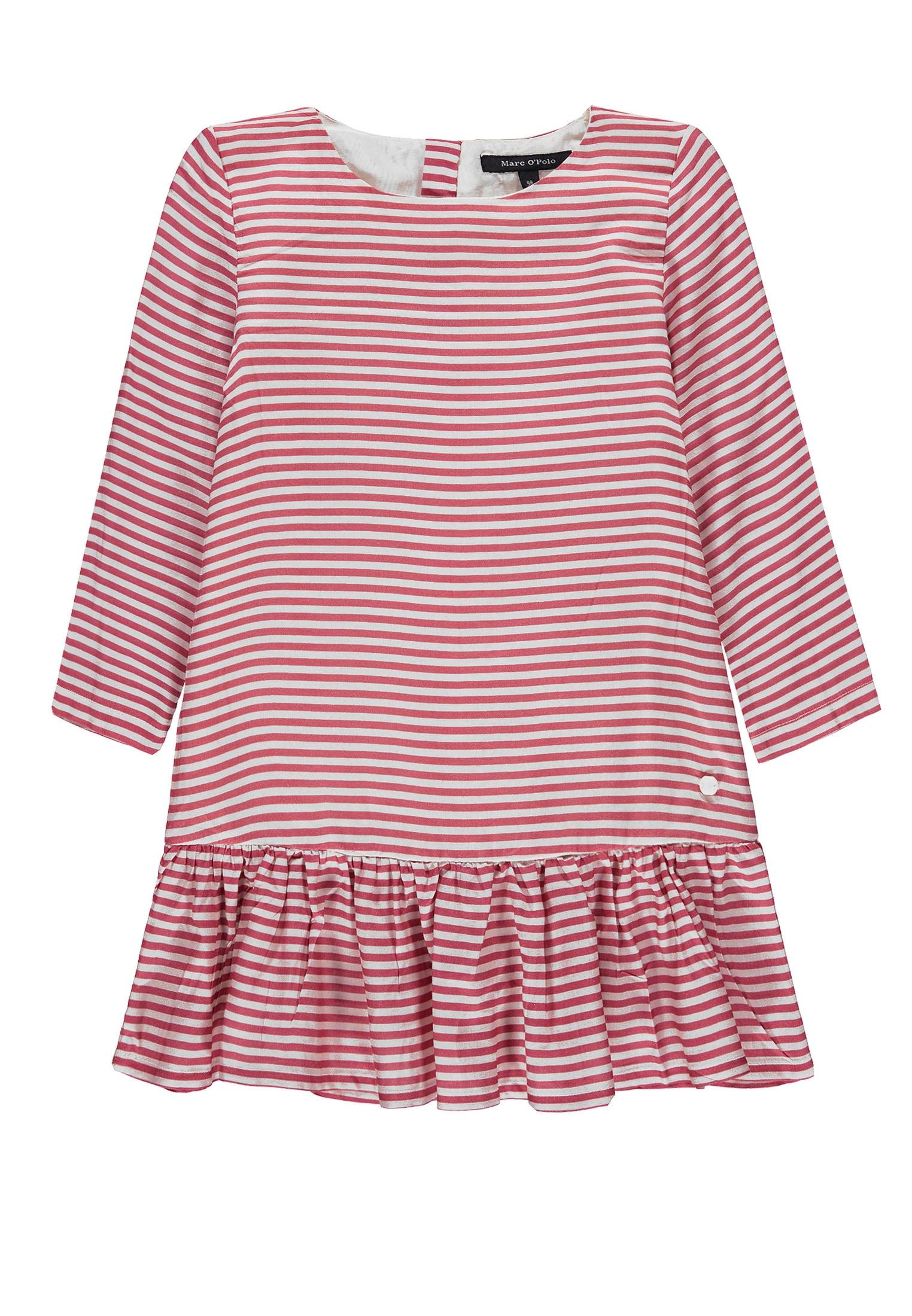 Marc O'Polo Junior Kleid mit 3/4 Ärmel gelb Mädchen Festliche Kleider Mädchenkleidung