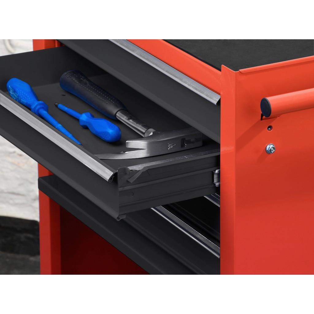 meister Werkstattwagen, 4 Schubladen