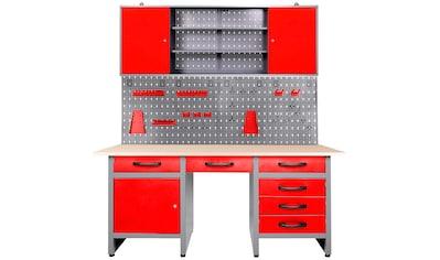 ONDIS24 Werkstatt-Set »Harry«, höhenverstellbar, inkl. 22-tlg. Hakenset kaufen