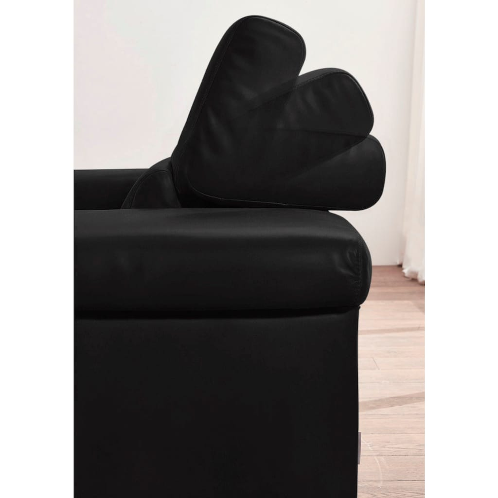 W.SCHILLIG 2-Sitzer »finn«, German Design Award 2016, Naturwalkleder der Luxusklasse, Breite 210 cm