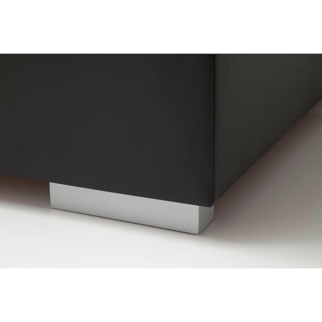meise.möbel Boxspringbett, mit laufendem LED-Lichtband im Kopfteil