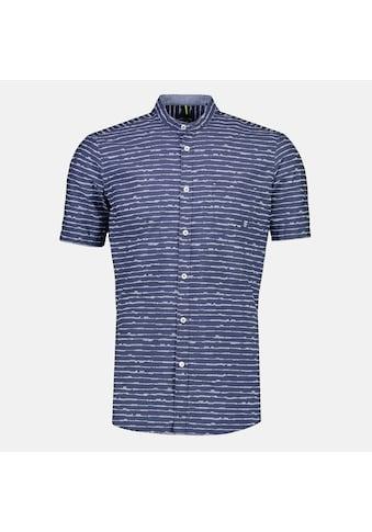 LERROS Kurzarmhemd, mit Stehkragen in Streifenoptik kaufen