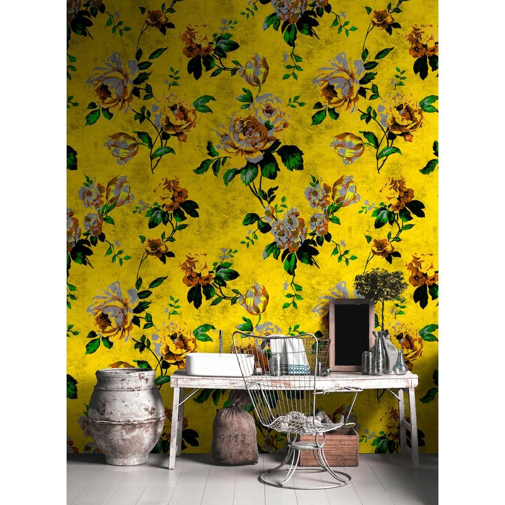 living walls Fototapete »Walls by Patel Wild Roses 5«