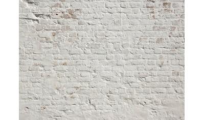 living walls Fototapete »Designwalls Brick White« kaufen