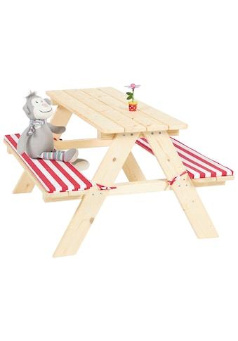 PINOLINO Kinderpicknicktisch »Nicki«, BxHxT: 90x79x50 cm kaufen