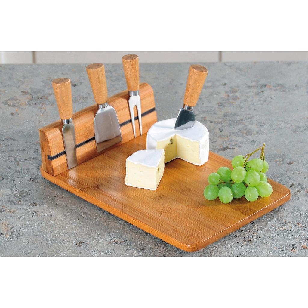 KESPER for kitchen & home Käsebrett, mit Besteck