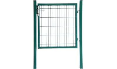 HOME DELUXE Zaun - Einzeltür 80 cm hoch, 1 m breit kaufen