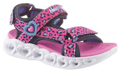 Skechers Kids Sandale »Blinkschuh Heart Lights Sandals«, mit cooler Blinkfunktion kaufen