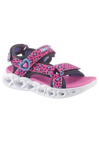 Skechers Kids Sandale »Blinkschuh Heart Lights Sandals« kaufen