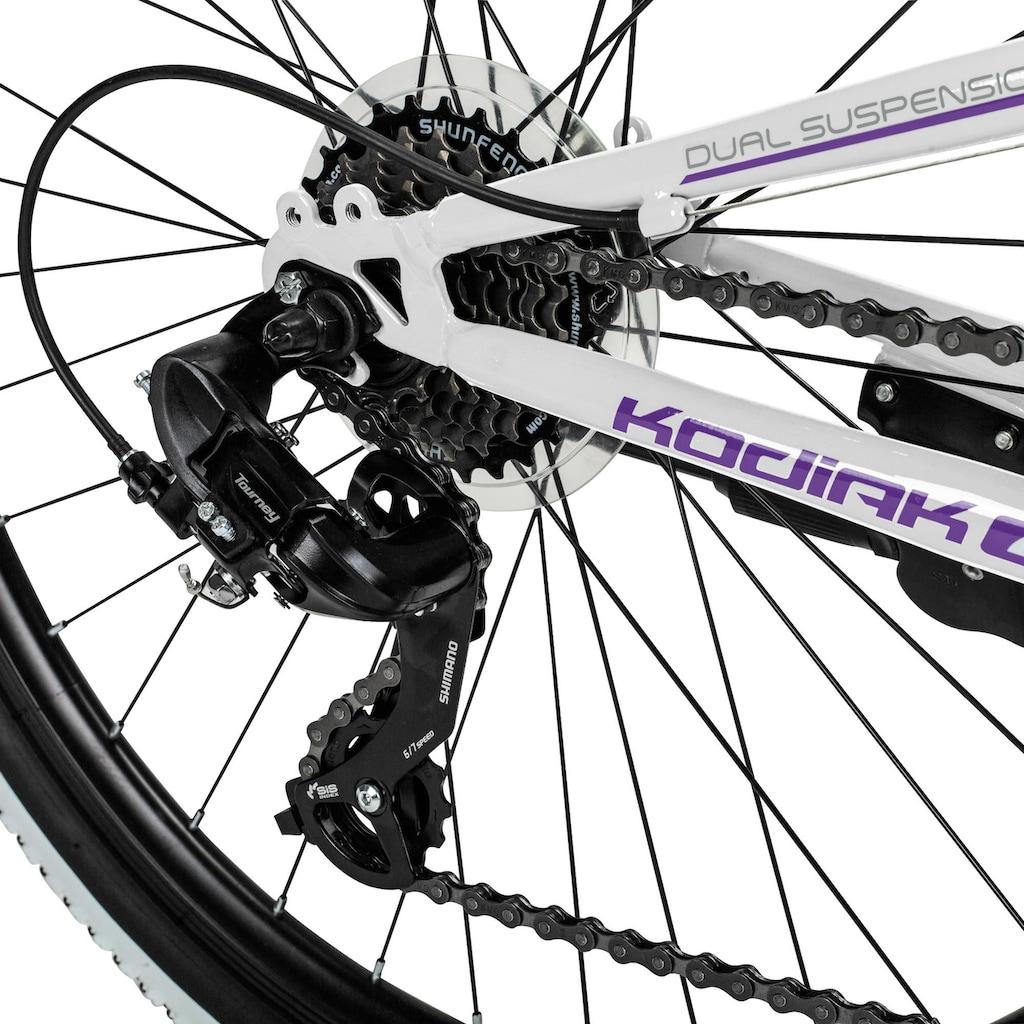 bergsteiger Mountainbike »Kodiak«, 21 Gang, Shimano, Tourney RD-TY300 Schaltwerk