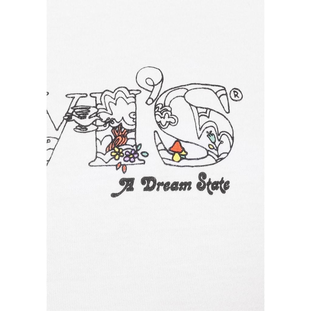 Levi's® T-Shirt »The Perfect Tee Pride Edition«, mit floralem Markenschriftzug