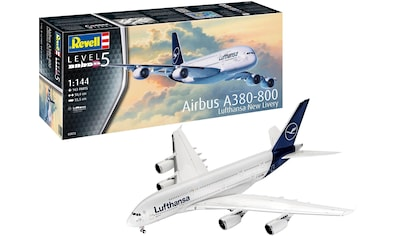 Revell® Modellbausatz »Airbus A380-800 Lufthansa - New Livery«, 1:144, Made in Europe kaufen