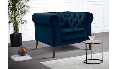 Premium collection by Home affaire Chesterfield-Sessel »Tobol«, im modernen... kaufen
