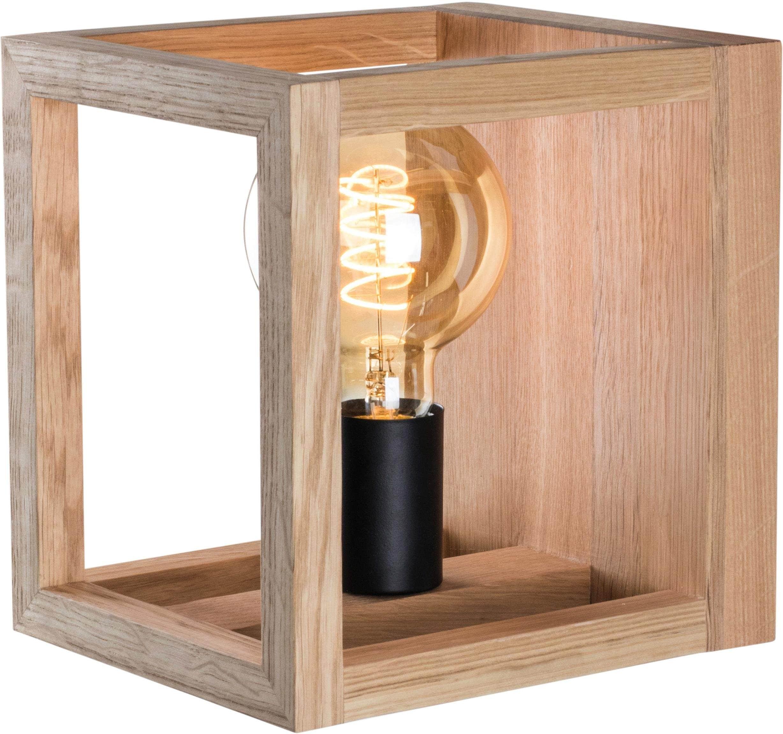 SPOT Light Wandleuchte KAGO, E27, Naturprodukt aus Eichenholz, Nachhaltig mit FSC-Zertifikat, passende LM E27, Made in EU