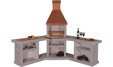 WELLFIRE Gartenkamin »Außenküche Toskana« kaufen