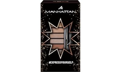 MANHATTAN Augen-Make-Up-Set »Eyemazing Palette + Dip Eyeliner Waterproof«, (2 tlg.) kaufen