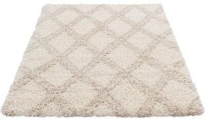 Sehrazat Hochflor-Teppich »Ethno 8699«, rechteckig, 30 mm Höhe, Langflor im Allover... kaufen