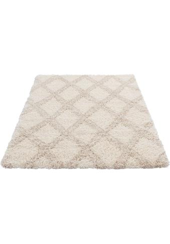 Sehrazat Hochflor-Teppich »Ethno 8699«, rechteckig, 30 mm Höhe, Langflor im Allover Design, Wohnzimmer kaufen