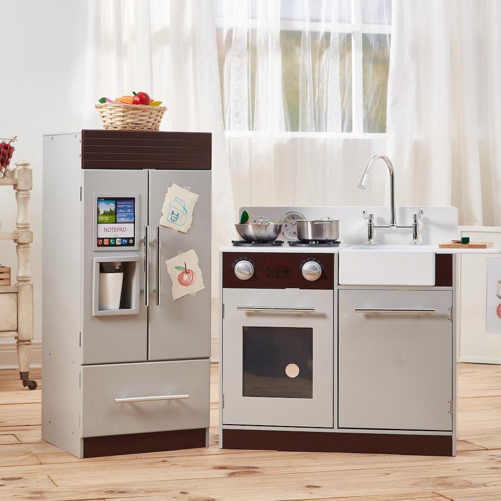 TEAMSON™ KIDS  Spielküche »Kinderküche, Espressofarben«