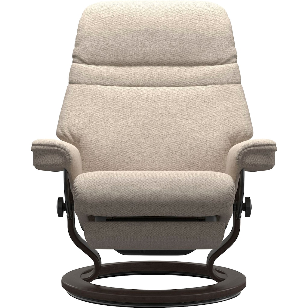 Stressless® Relaxsessel »Sunrise«, mit Classic Base und Power™, elektrisch verstellbar, optional 2-motorisch, Größe M & L, Gestell Wenge