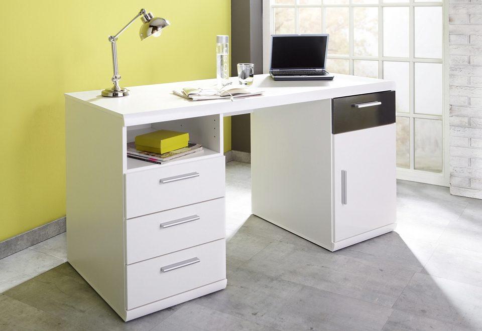 Schreibtisch Lana mit 2 Containern