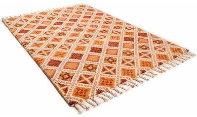 THEKO Wollteppich »Marmoucha«, rechteckig, 24 mm Höhe, reine Wolle, echter Berber,... kaufen