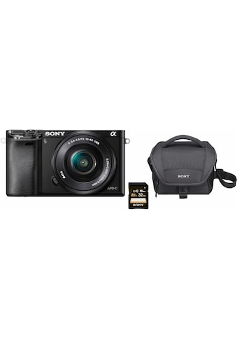 Sony »Alpha ILCE - 6000L« Systemkamera (SEL - P1650, 24,3 MP, WLAN (Wi - Fi) NFC) kaufen