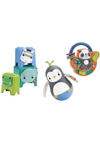 Fisher-Price® Greifspielzeug »Feinmotorik-Spielzeug Geschenkset«, mit Musik kaufen