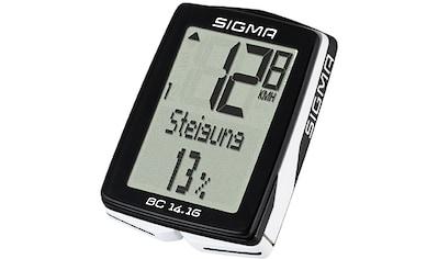 SIGMA SPORT Fahrradcomputer »BC 14.16« kaufen