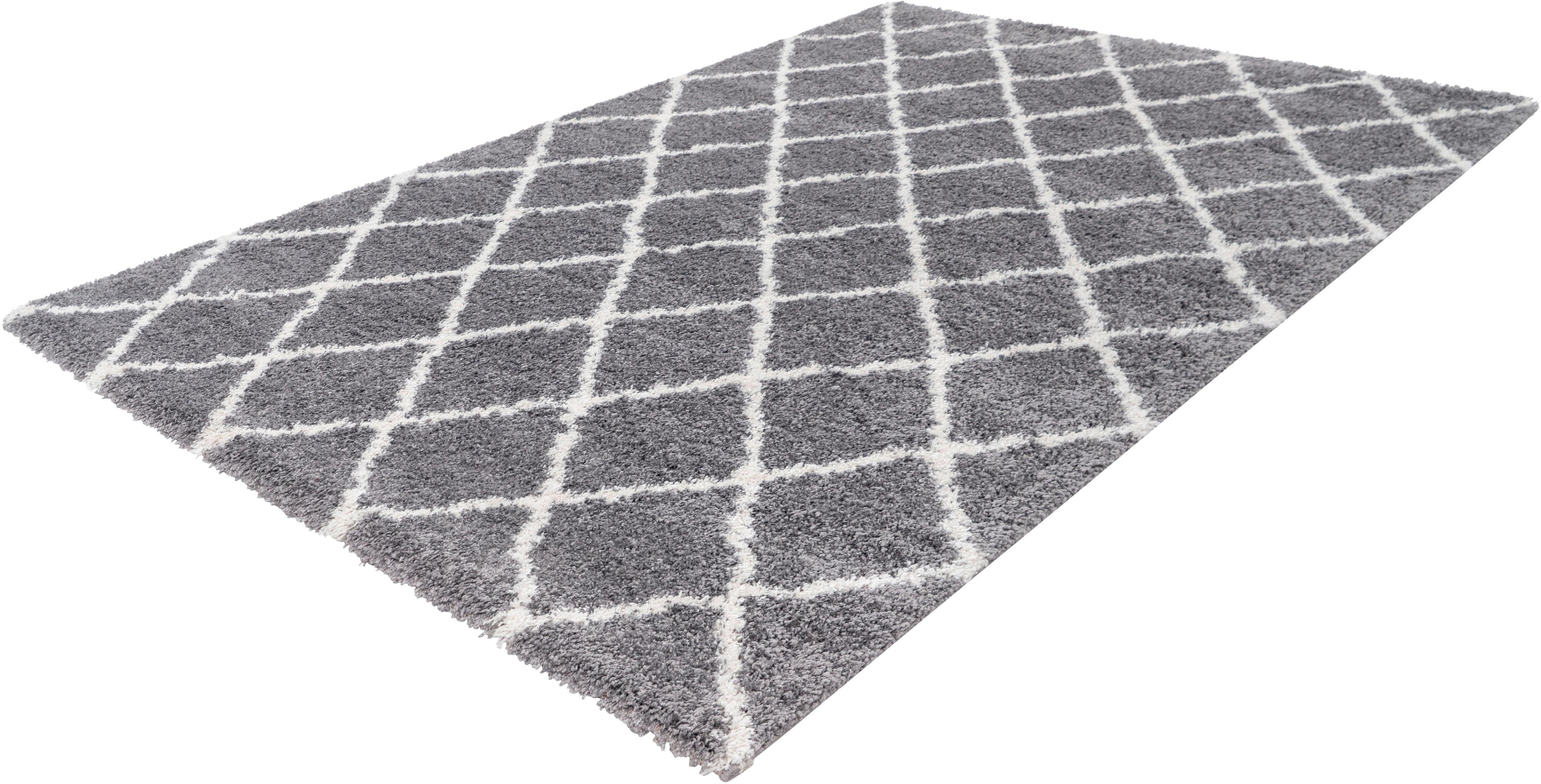 Hochflor-Teppich Intact 400 calo-deluxe rechteckig Höhe 32 mm maschinell gewebt