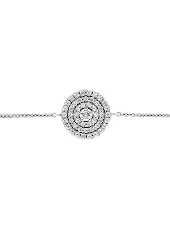 Smart Jewel Armband »rund, Zirkonia Steine, Silber 925« kaufen