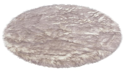 Hochflor - Teppich, »Sammo«, my home, rund, Höhe 60 mm, gedruckt kaufen