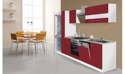 RESPEKTA Küchenzeile »Ibiza«, mit E-Geräten, 310 cm kaufen