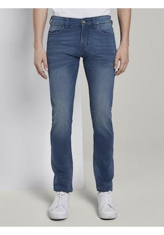 TOM TAILOR Slim - fit - Jeans »Troy Slim Jeans in Sweat - Optik« kaufen