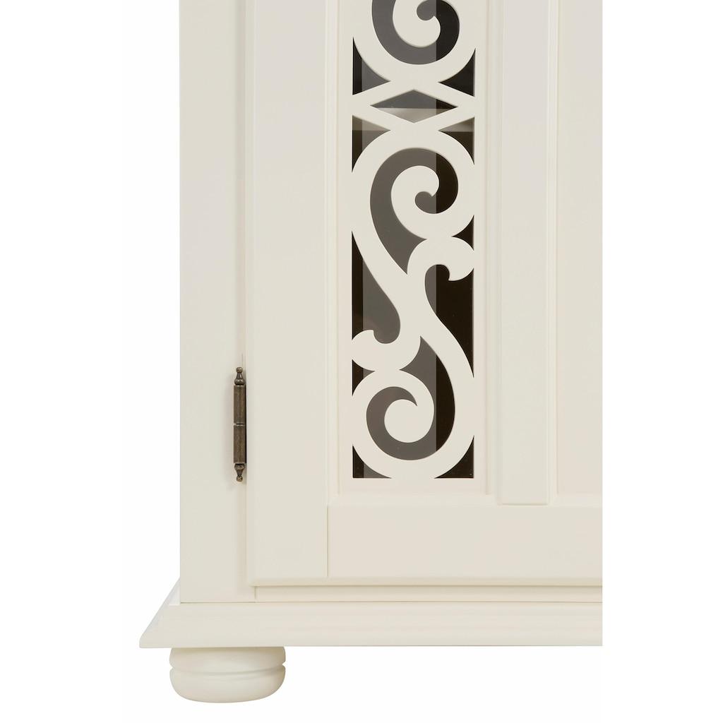 Home affaire Sideboard »Arabeske«, mit schönen dekorativen Fräsungen auf Tür- und Schubladenfronten, Breite 171 cm