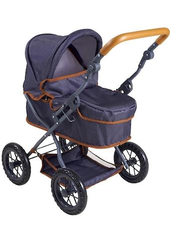 Knorrtoys® Puppenwagen »First - dark blue« kaufen